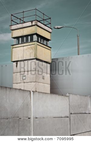 Berlin Wall And Watch Tower, Germany