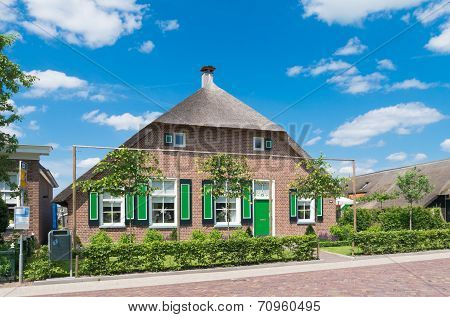 traditional dutch farmhouse