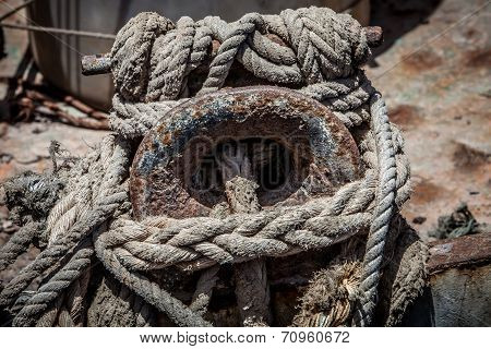 Rope And Cleat