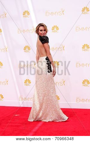 LOS ANGELES - AUG 25:  Keltie Knight at the 2014 Primetime Emmy Awards - Arrivals at Nokia at LA Live on August 25, 2014 in Los Angeles, CA