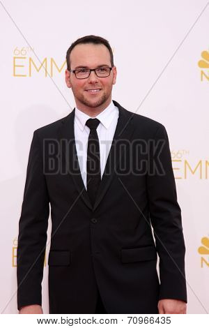 vLOS ANGELES - AUG 25:  Dana Brunetti at the 2014 Primetime Emmy Awards - Arrivals at Nokia at LA Live on August 25, 2014 in Los Angeles, CA