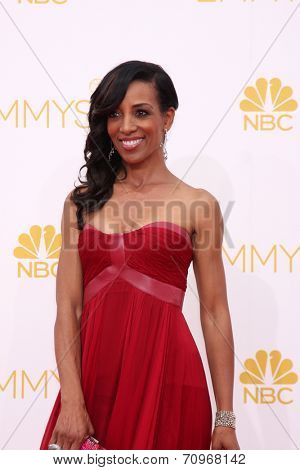 LOS ANGELES - AUG 25:  Shawn Robinson at the 2014 Primetime Emmy Awards - Arrivals at Nokia at LA Live on August 25, 2014 in Los Angeles, CA