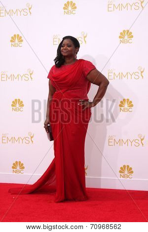 LOS ANGELES - AUG 25:  Octavia Spencer at the 2014 Primetime Emmy Awards - Arrivals at Nokia at LA Live on August 25, 2014 in Los Angeles, CA