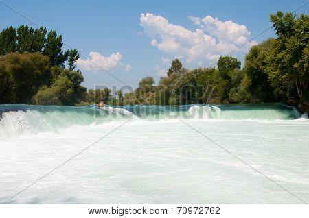 Manavgat Waterfall. Turkey, Antalya Province