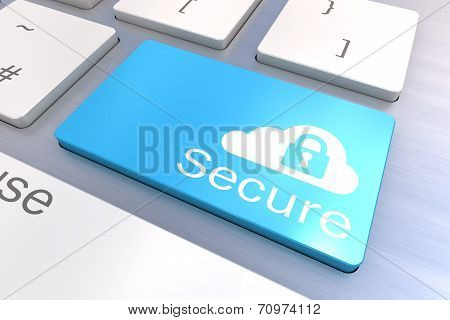 Cloud Secure Keyboard Button