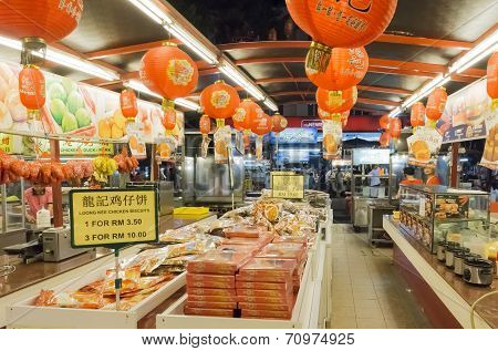 Jalan Alor Chinese cookies shop