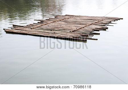 Old Bamboo Raft