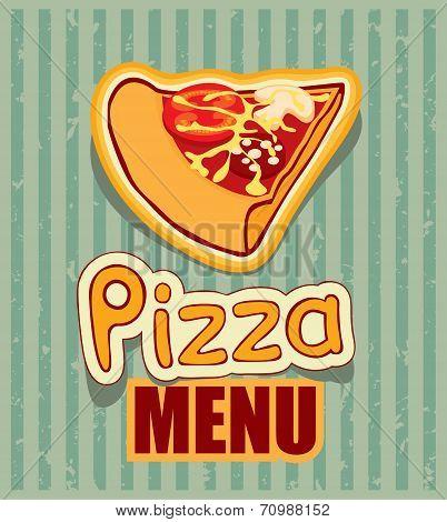 Pizza retro
