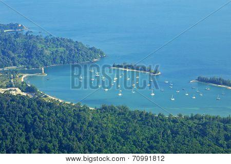 Landscape Of Langkawi Island, Malaysia