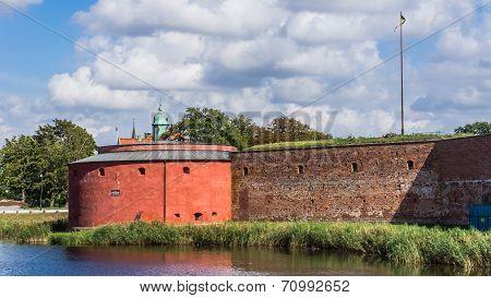 Part of Malmo Castle