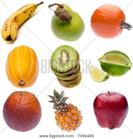 Group Of Fresh Fruit