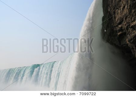 Niagra from the bottom