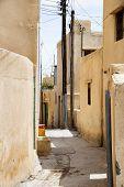 pic of jabal  - Streets of small village on Saiq Plateau in Oman - JPG