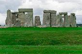 foto of stonehenge  - ancient Historical landmark monument Stonehenge England UK  - JPG
