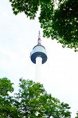 pic of seoul south korea  - Namsan N Seoul Tower stands 480 meters above sea level Seoul South Korea - JPG