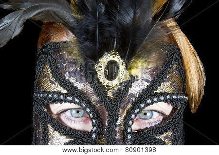 Mardi Gras Eyes