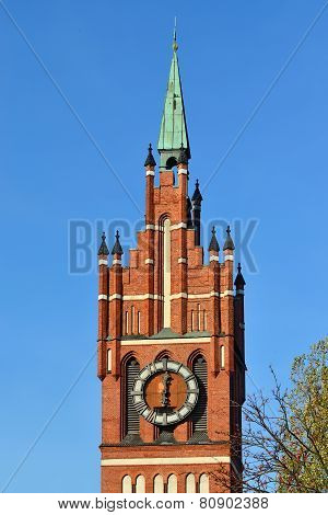 Church Of The Holy Family. Kaliningrad (former Koenigsberg), Russia