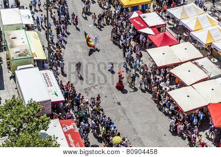 People Celebrate Christopher Street Day In Frankfurt