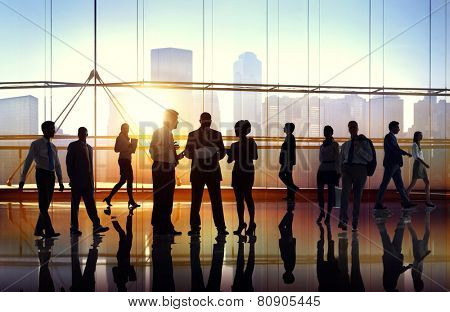 Business People Collaboration Team Teamwork Peofessional Concept
