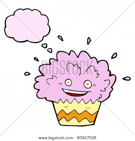 cartoon crazy cupcake
