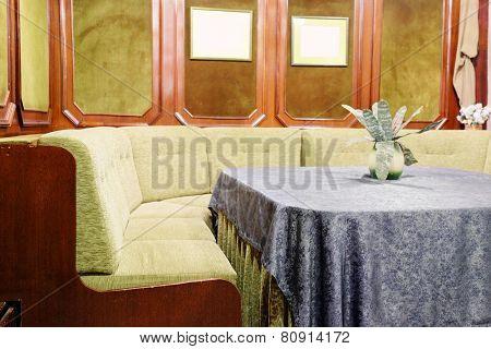 interior lobby restaurant
