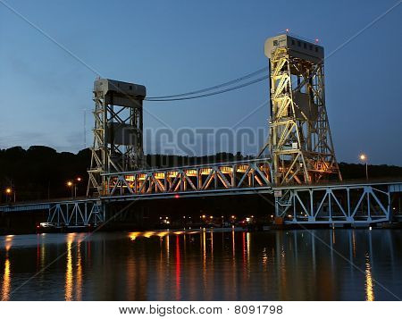 Portage Lake Lift Bridge - Houghton, MI
