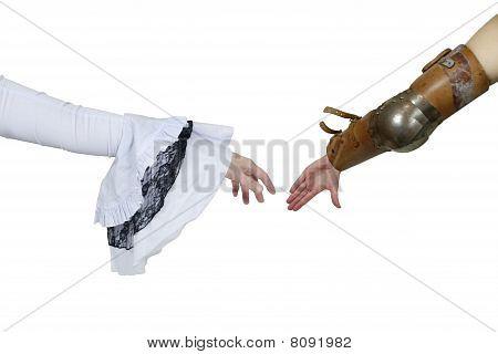 Medieval Grasp Hands