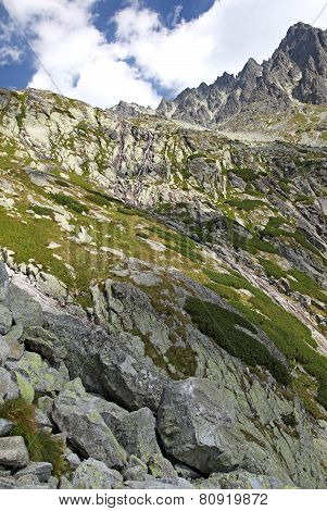 Mala Studena Dolina - Valley In High Tatras, Slovakia