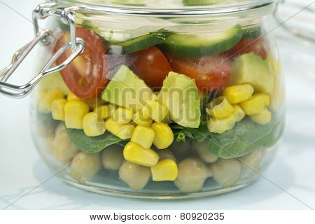 Jar Of Salad