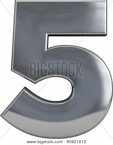 Five - Metal Number 5