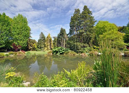 Christchurch Botanical Gardens New Zealand