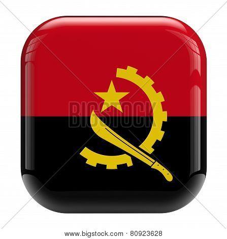 Angola Flag Image Icon