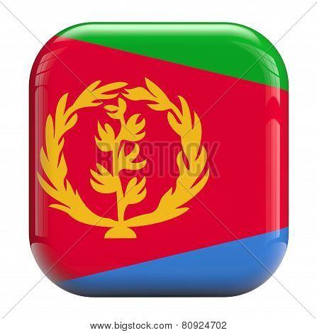 Eritrea Flag Icon Image
