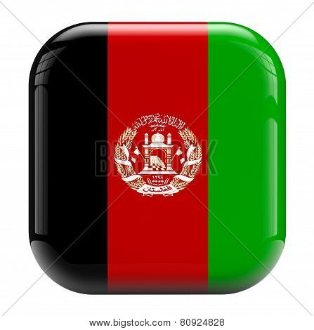 Afghanistan Flag Icon Image