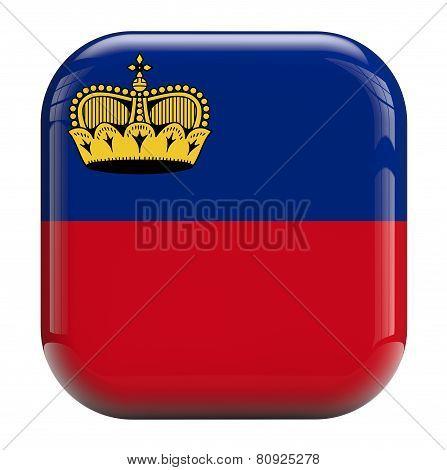 Lichtenstein Flag Icon Image