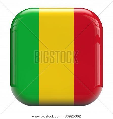 Mali Flag Icon Image