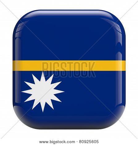 Nauru Flag Icon Image