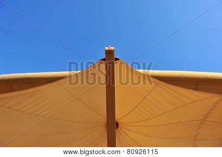 Stadium's canopy