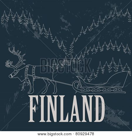 Finland graphics, statistical data, sights