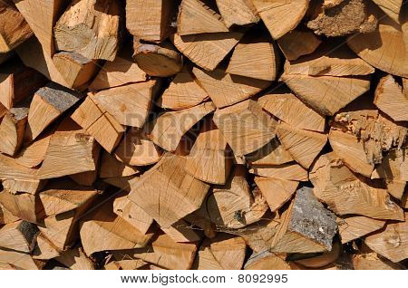 Beechen fire wood.