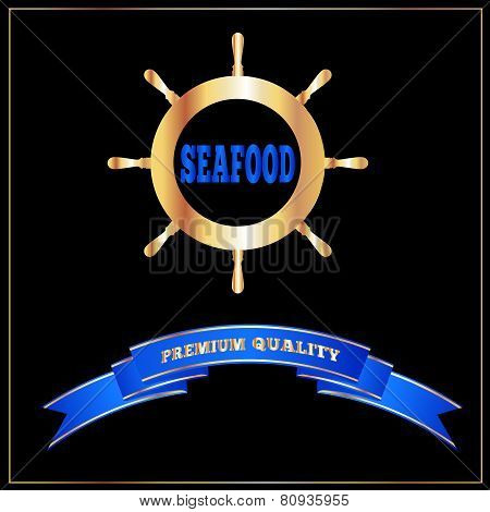 High Quality Seafood Menu Signage Or Cover