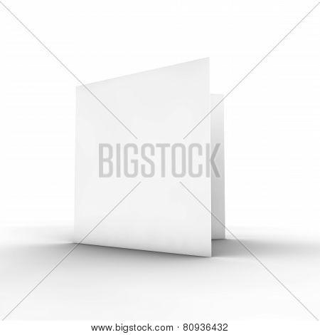 Blank Paper Brochure