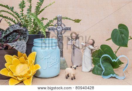 Arrangement For Spring Or Easter