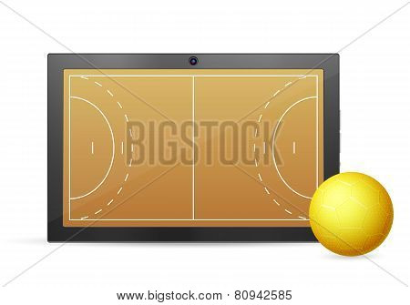 Tablet Handball