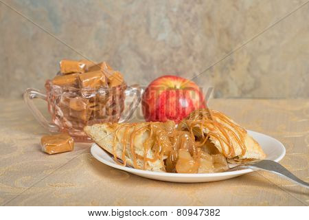Caramel Apple Turnover