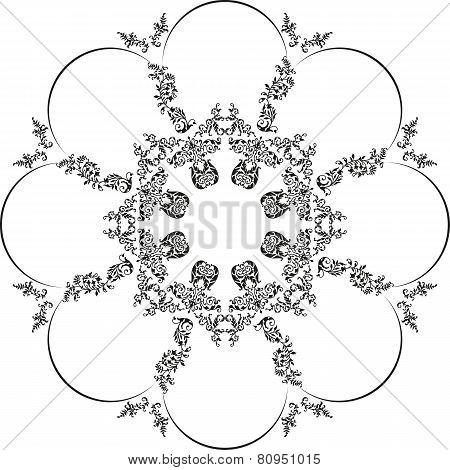 Floral_round_pattern