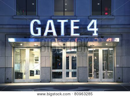 Gate Entrance To Yankee Stadium