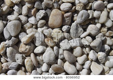 Smooth pebble background
