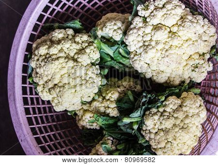 Group Of Cauliflower