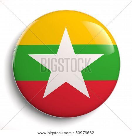 Burma Myanmar Flag